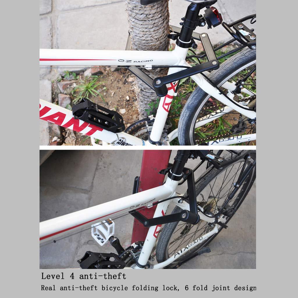 b08e47a916 KYX-GAOMOUREN Fahrradschloss Mountainbike Joint Anti-Diebstahl-Lock-Ausrüstung  Zubehör Fahrrad-Sicherheit Fahrrad-Zubehör.: Amazon.de: Sport & Freizeit