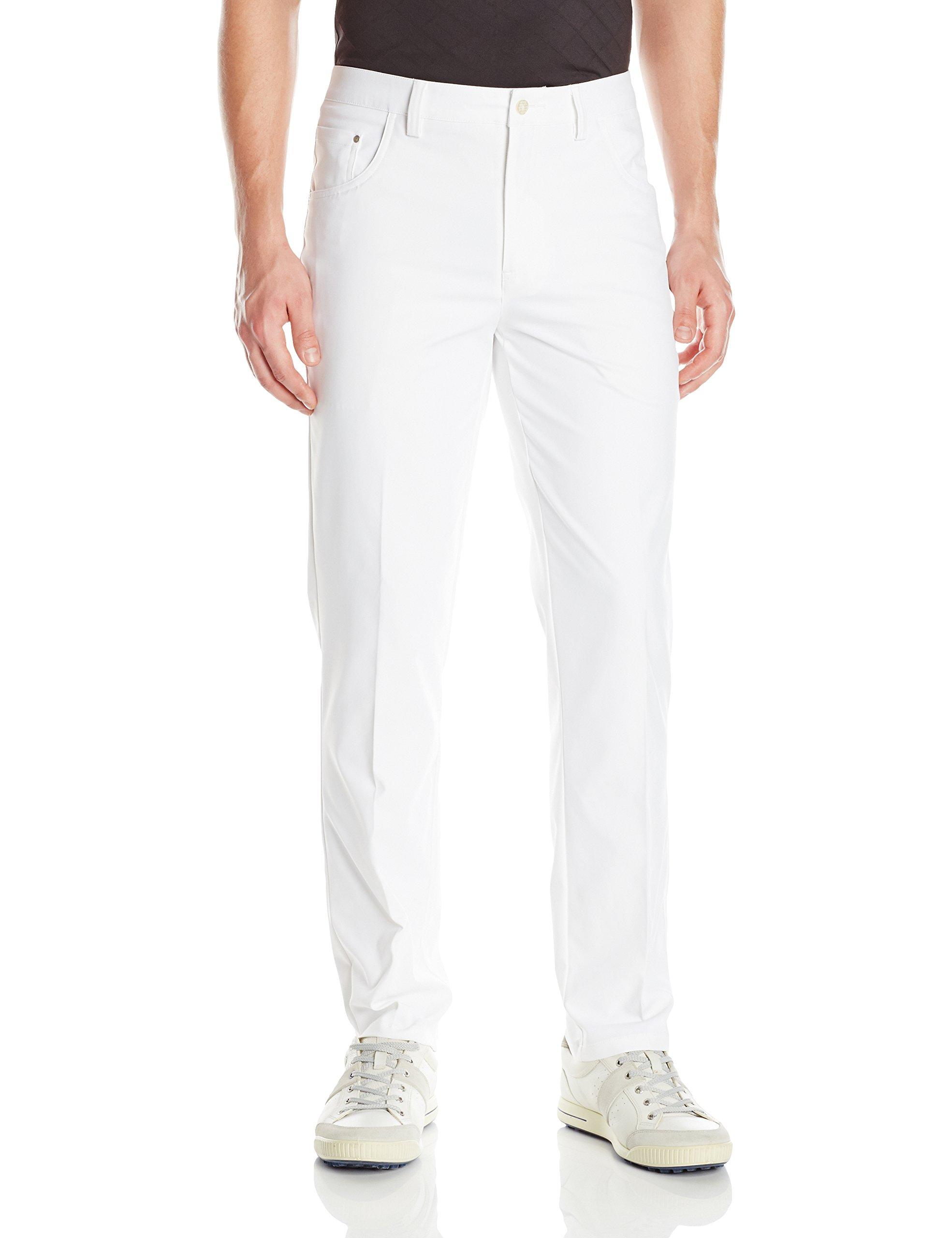 PUMA Golf 2017 Men's 6 Pocket Pants, Bright White, 36x34 by PUMA