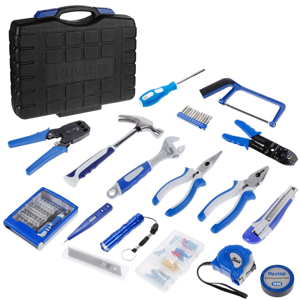 Rovtop Repair Tool Kit for Daily Home Project