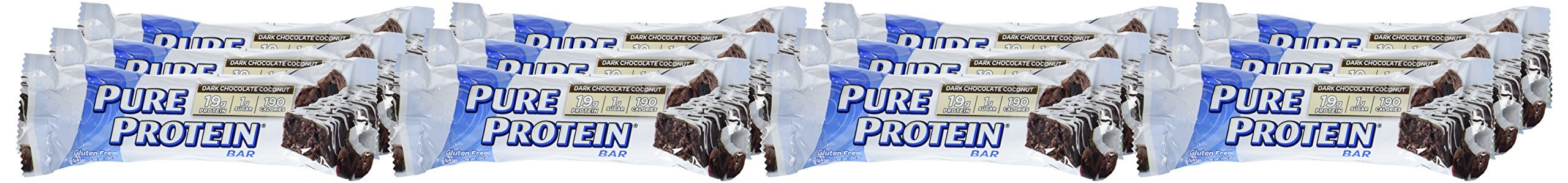Pure Protein Dark Chocolate Coconut, 1.76oz, 2 Pack (12 Count) by Pure Protein (Image #6)