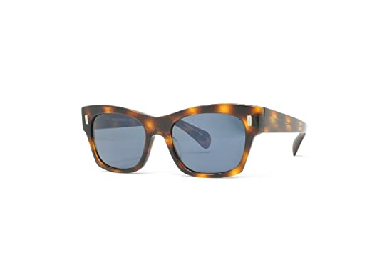 276a82de90f Amazon.com  Oliver Peoples The Row 71st Street - Tortoise   Blue ...