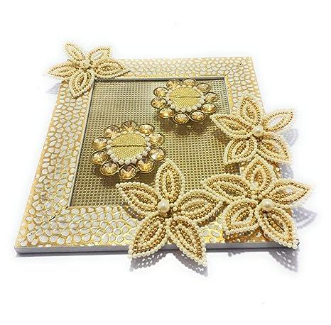 Buy Smart Creations Ring Platter For Wedding Engagement Ring