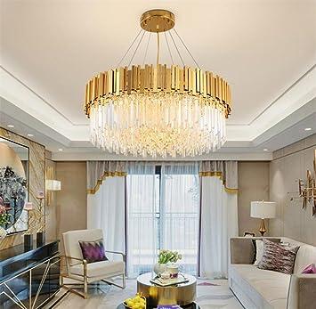 LUCKY CLOVER A Kupfer Deckenleuchte Kronleuchter Modernes Design Wohnzimmer  Schlafzimmer Luxus Innenbeleuchtung Fixture Gold Crystal