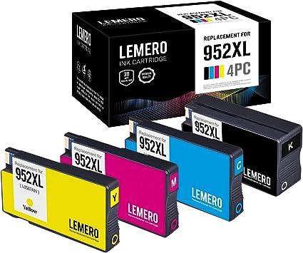 LEMERO Compatible Sustituciones para HP 953 XL 953XL Cartuchos de ...