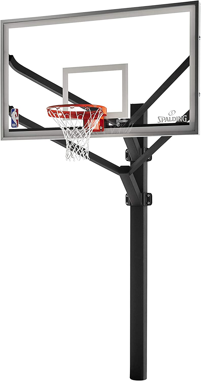#6 Spalding H-Frame In-Ground Basketball System