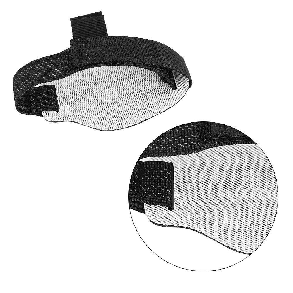 Almohadilla de cambio de engranaje de la motocicleta coj/ín de cambio de engranaje de goma de motocicleta Cubierta protectora de Zapatos
