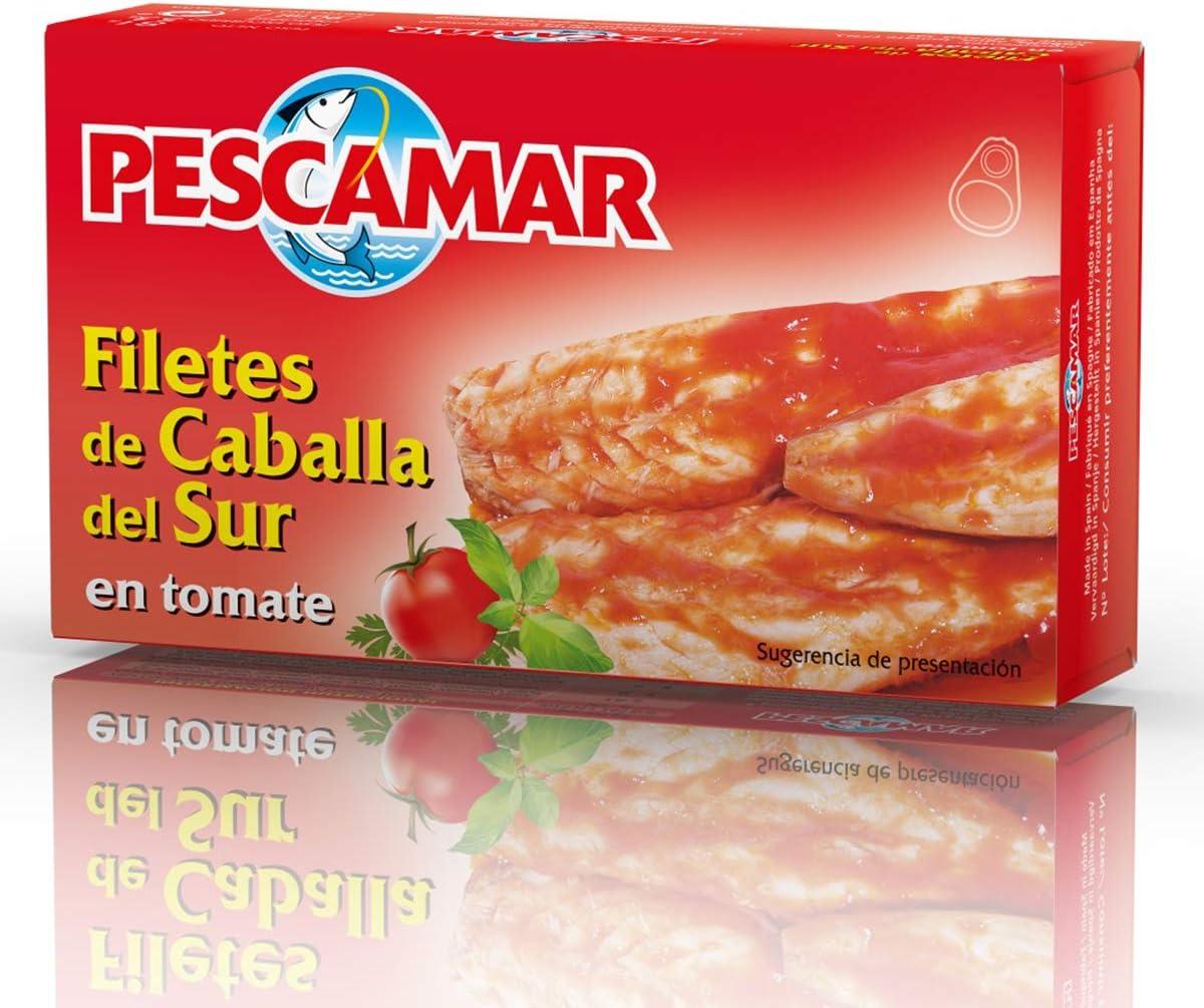 Pescamar Filete Caballa En Salsa De Tomate En Lata 81 G 81 g