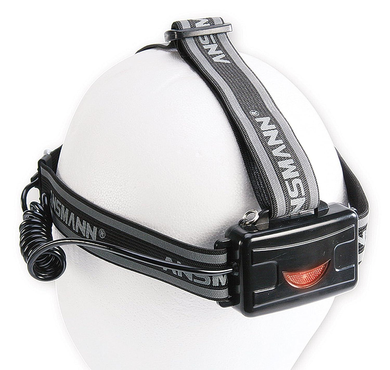 Ansmann HD3 - Linterna frontal LED, 5000 lux, alcance de 500 m: Amazon.es: Iluminación