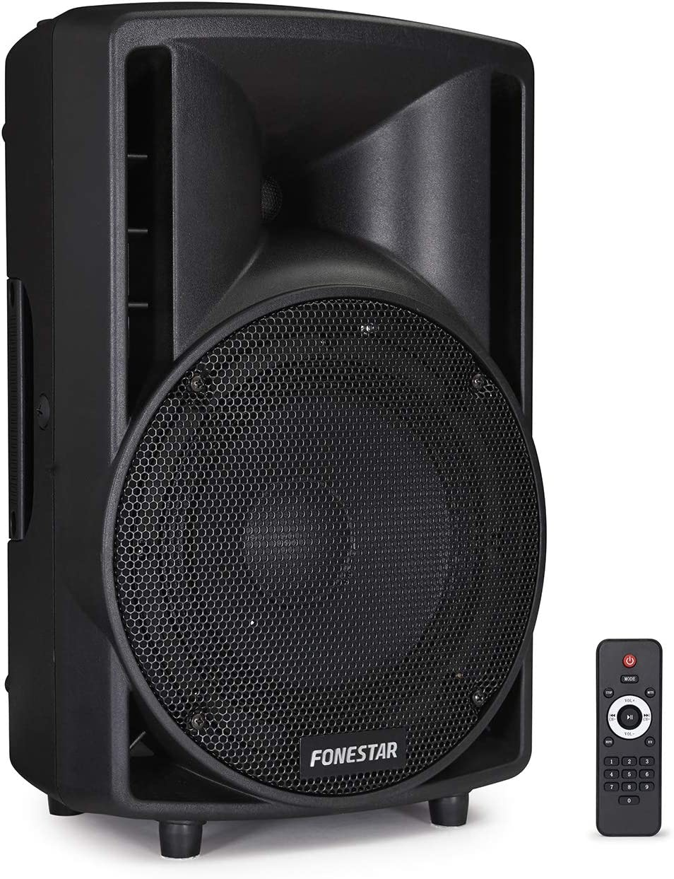Fonestar ASB-880U - Altavoz autoamplificado (USB, SD, MP3), color negro