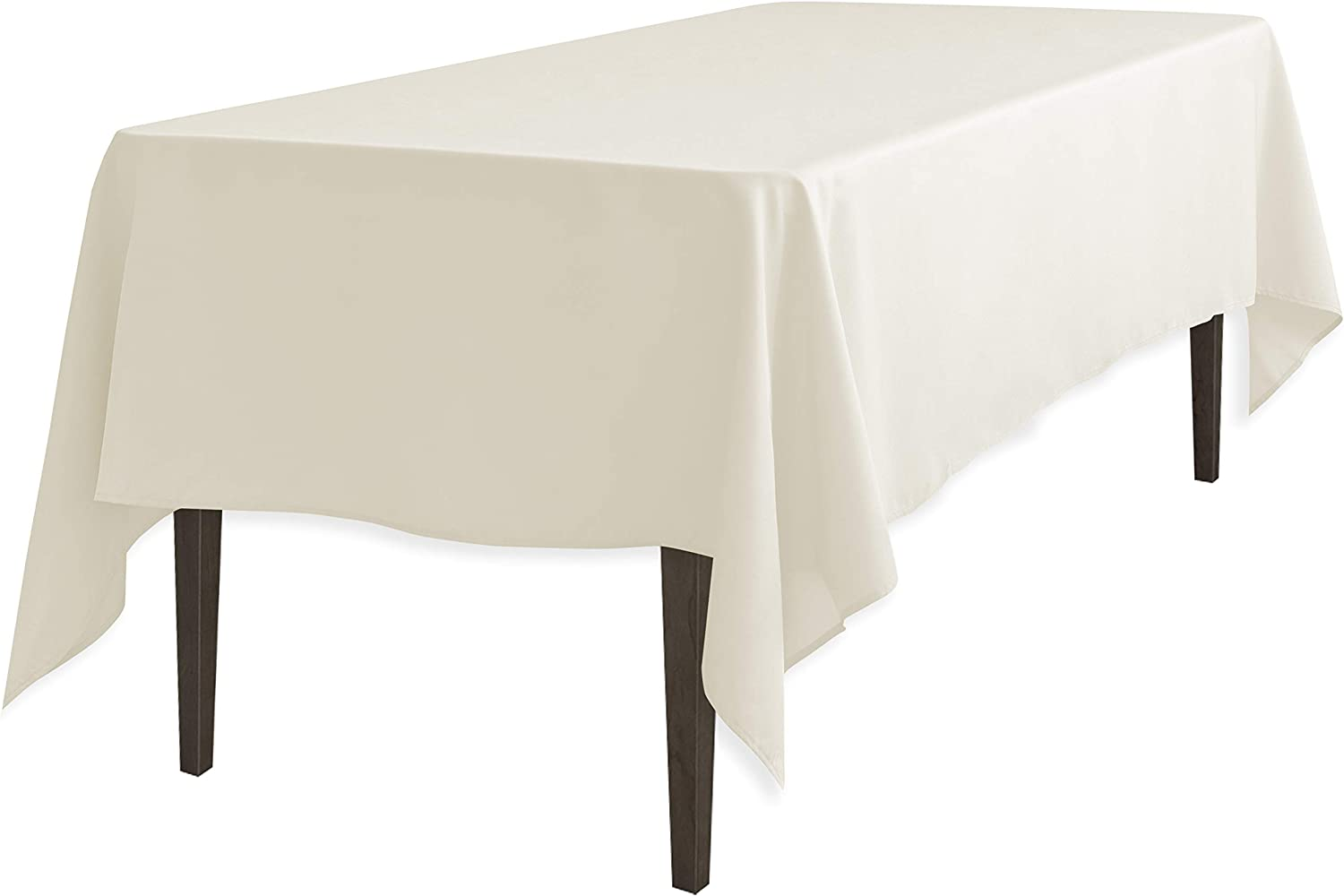 """12 YARDS 60/"""" Polypoplin POLYESTER FABRIC TABLECLOTH TABLE OVERLAY DRESS 25 COL"""