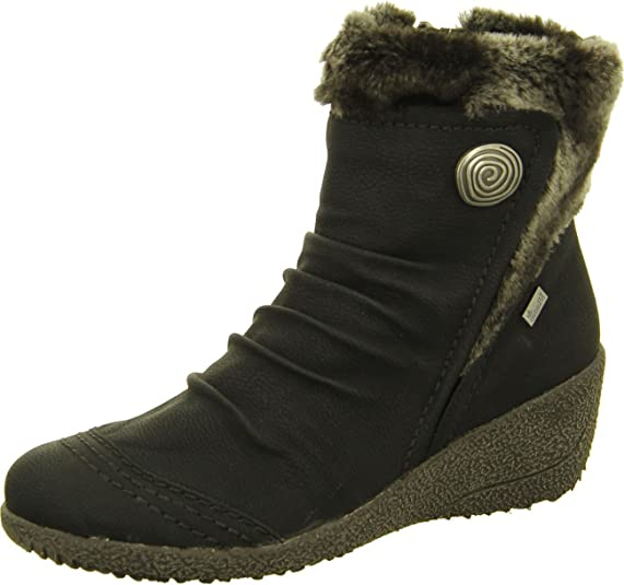 Rieker Y0363 01, Boots femme