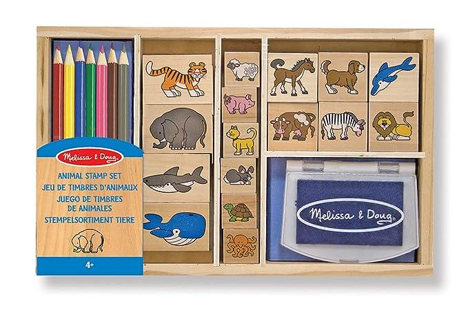 18 opinioni per Melissa & Doug 13798- Set di Timbri Animali