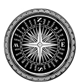 Amazon Com Area Rugs Quot Mariners Compass Quot Rug 5 Round