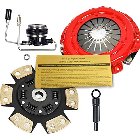 EFTSTAGE 3 CLUTCH KIT W/SLAVE CYLINDER PARA 1987-1992 JEEP CHEROKEE 2.5L
