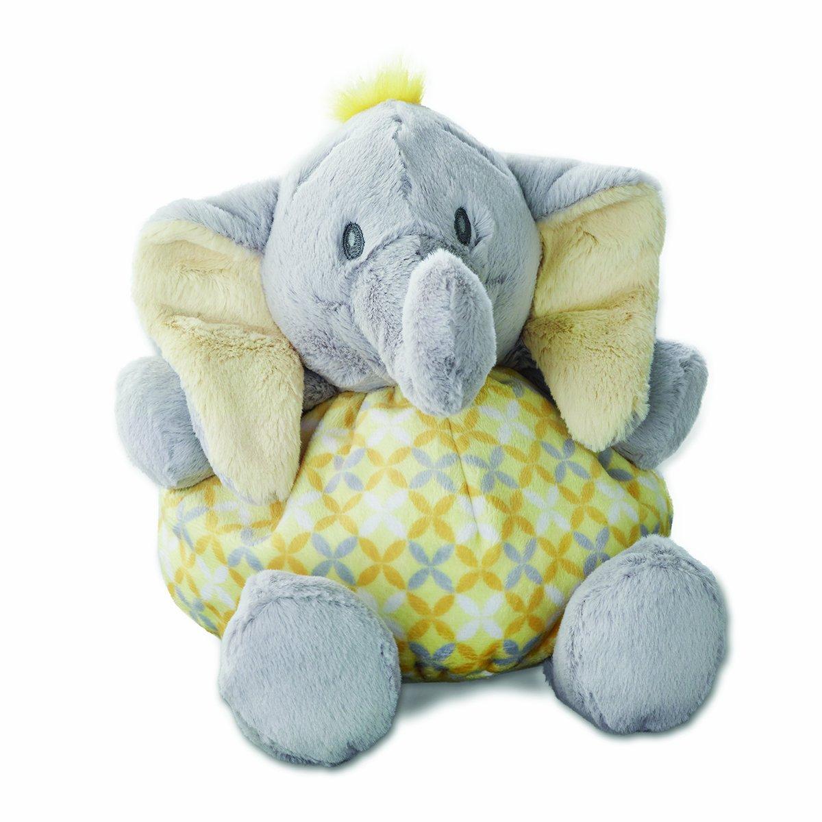Tusk Elephant 5004700038 Nat and Jules Rattle Plush Toy