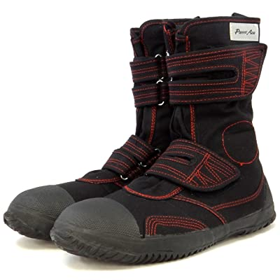 Power Ace Japanese Tabi Safety Boots (9.5 W US Men (27cm), Black) | Athletic