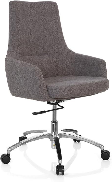 hjh OFFICE 670921 Design Drehsessel Shake 100 Stoff