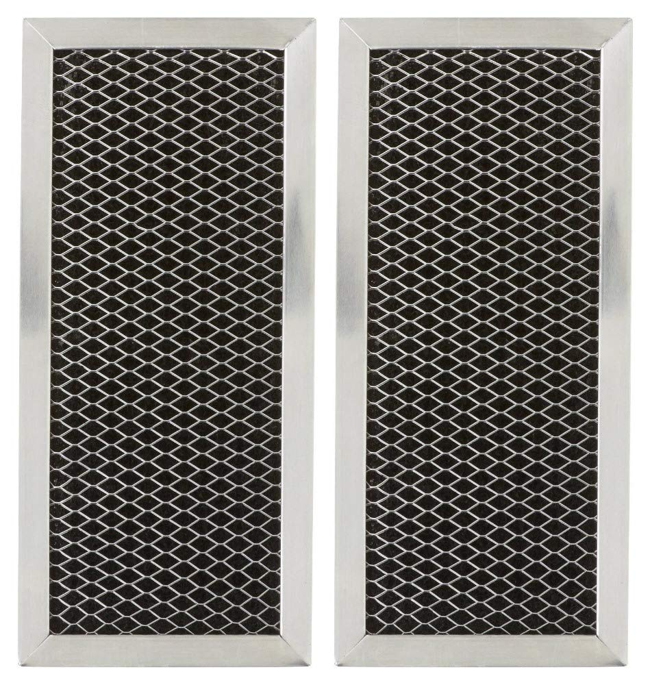 B01E9LCJDQ Bagean Microwave Charcoal Filter Compatible with GE JX81H, WB02X10956 (2-Pack) 71zjPOrCf7L