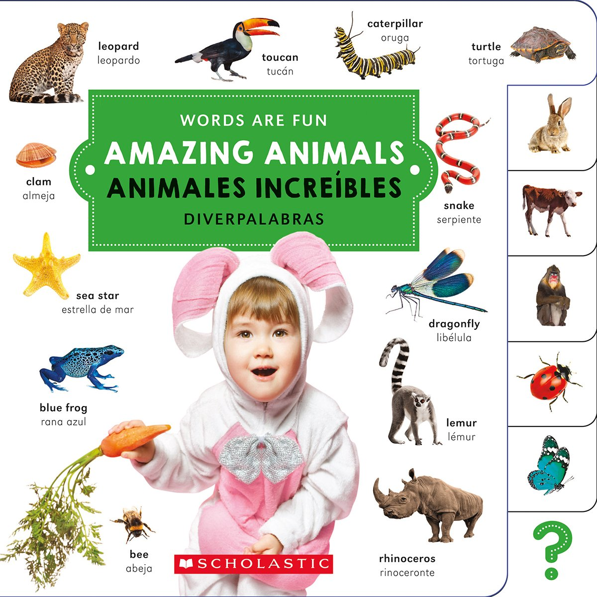 Download Amazing Animals / Animales increíbles (Words Are Fun/ Diverpalabras) (English and Spanish Edition) pdf