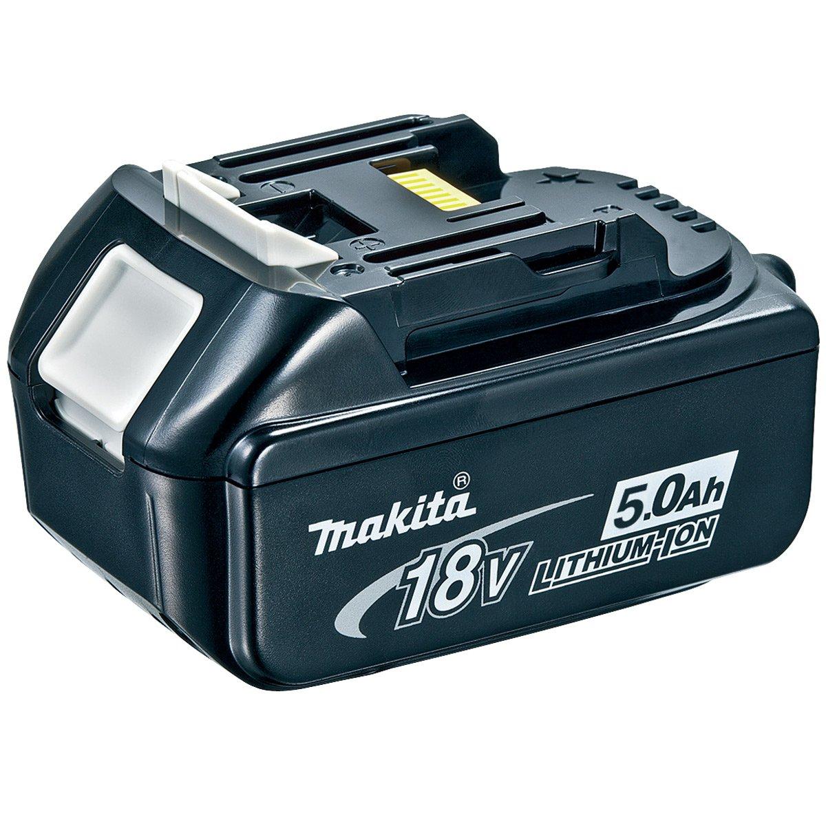 Makita BL1850 (196673-6) 18 Volt 5Ah Lithium-Ion Battery, 18 V, Black, Small