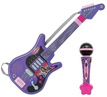 Smoby - 520103 - Chica Vampiro - Guitarra electrónica + Micrófono: Amazon.es: Juguetes y juegos