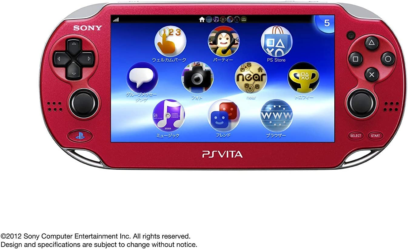 Sony Playstation Vita OLED 1000 Series WiFi (reacondicionado ...