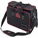Homcom® Werkzeugtasche Werkzeugkoffer Wergzeug Tasche mit Schultergurt