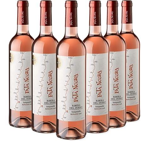 Pata Negra Vino Rosado con D.O Ribera del Duero - Pack de 6 Botellas x 750 ml: Amazon.es: Alimentación y bebidas
