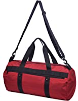 MIER Barrel Travel Sports Bag for Women and Men Small Gym Bag with Shoes Compartment