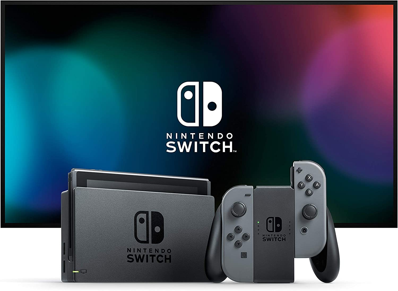 Nintendo Switch - Consola Estándar - Gris: Nintendo: Amazon.es ...