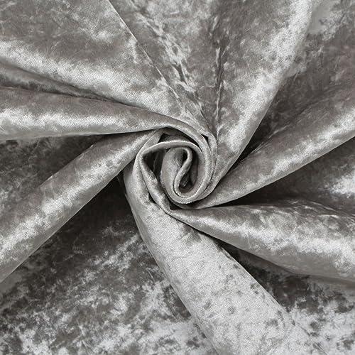 Slate Grey Soft Plain Linen Look Home Essential Designer