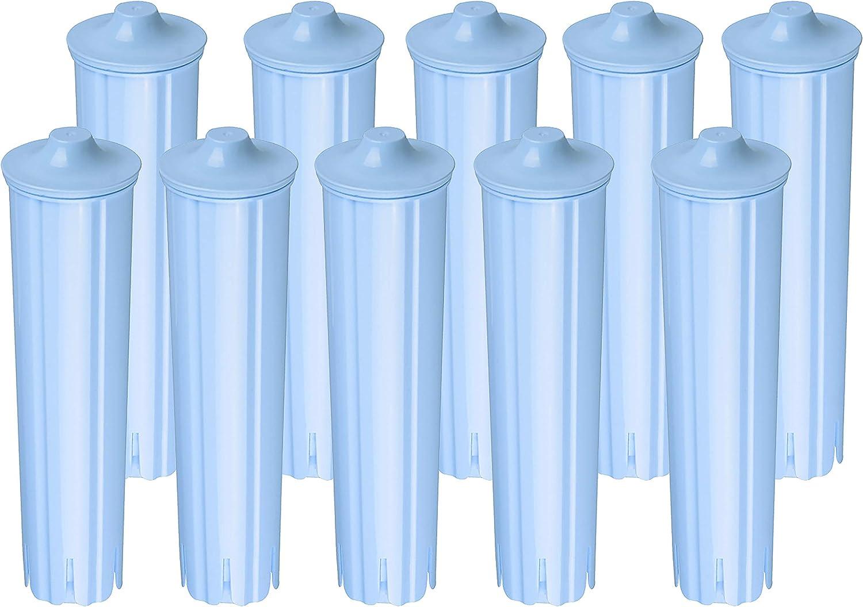 10 x Cartucho de Filtro compatible JURA CLARIS BLUE ☕ la cafetera ...