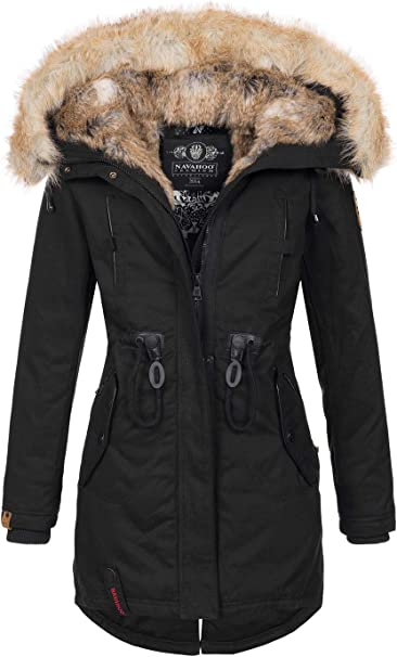 navahoo warme damen winter jacke parka
