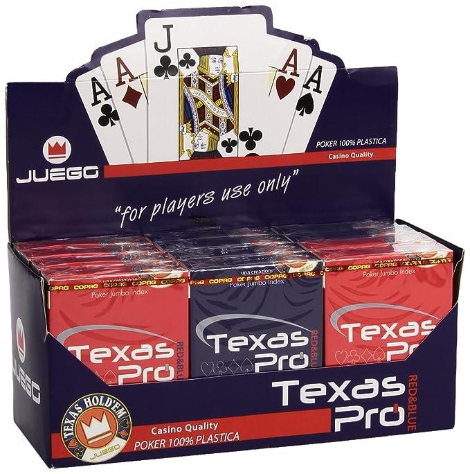 65 opinioni per JUEGO Texas Pro I Carte Gioco Da Tavolo I Originali Poker & Texas Hold'em I 100%