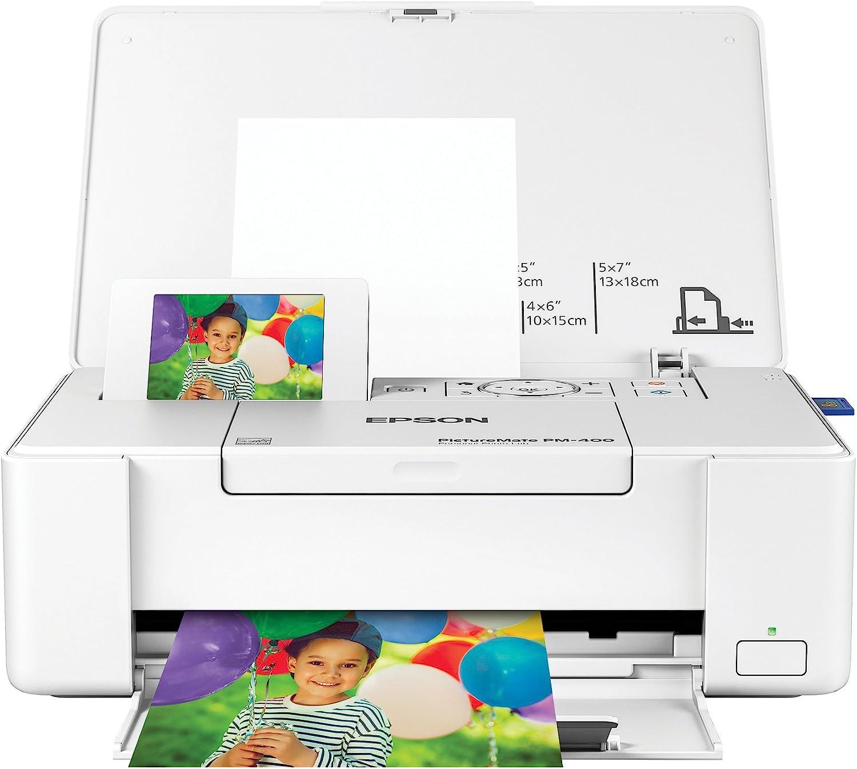 Amazon Com Epson Picturemate Pm 400 Wireless Compact Color Photo Printer Electronics