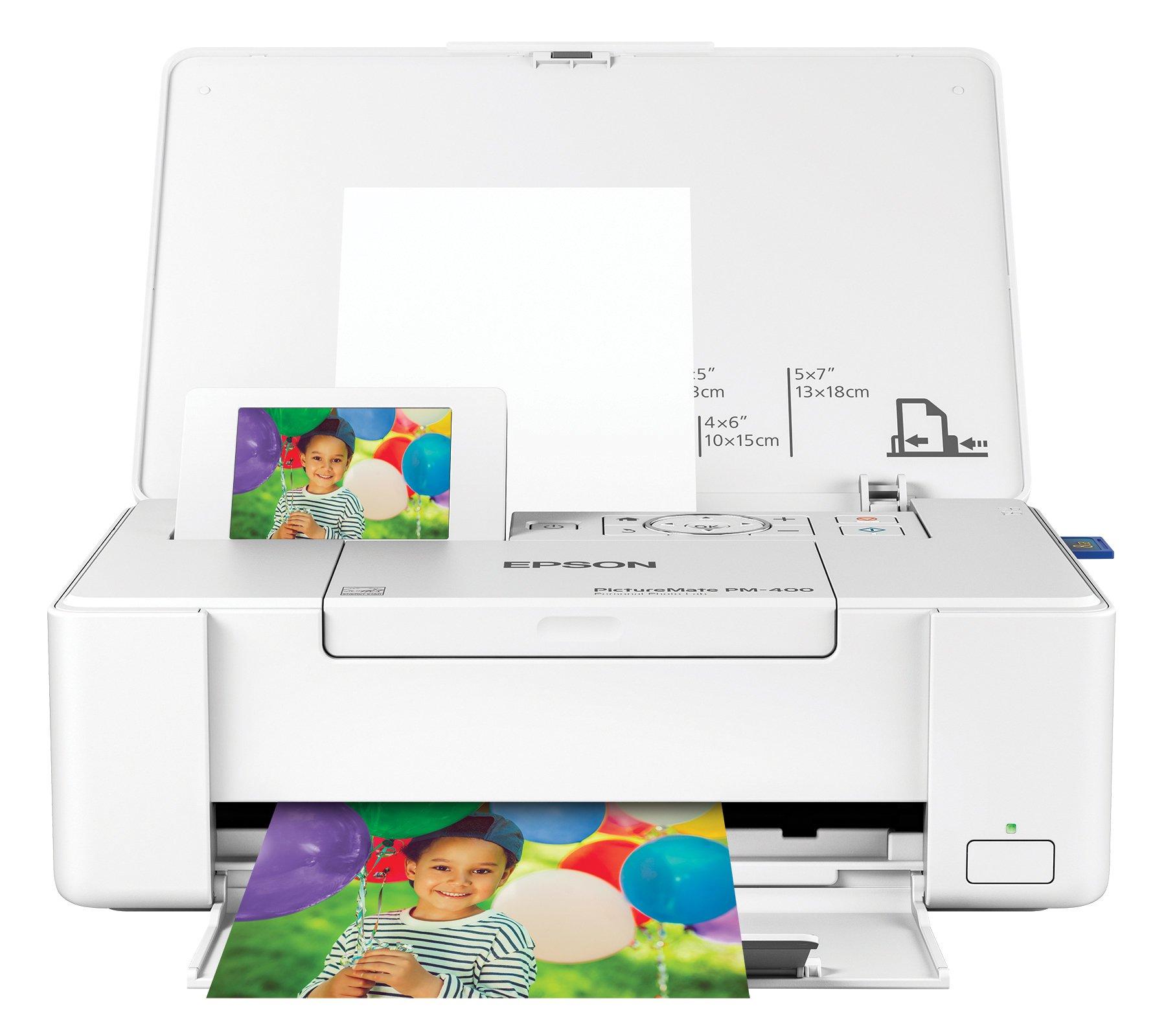 Epson PictureMate PM-400 Wireless Compact Color Photo Printer by Epson