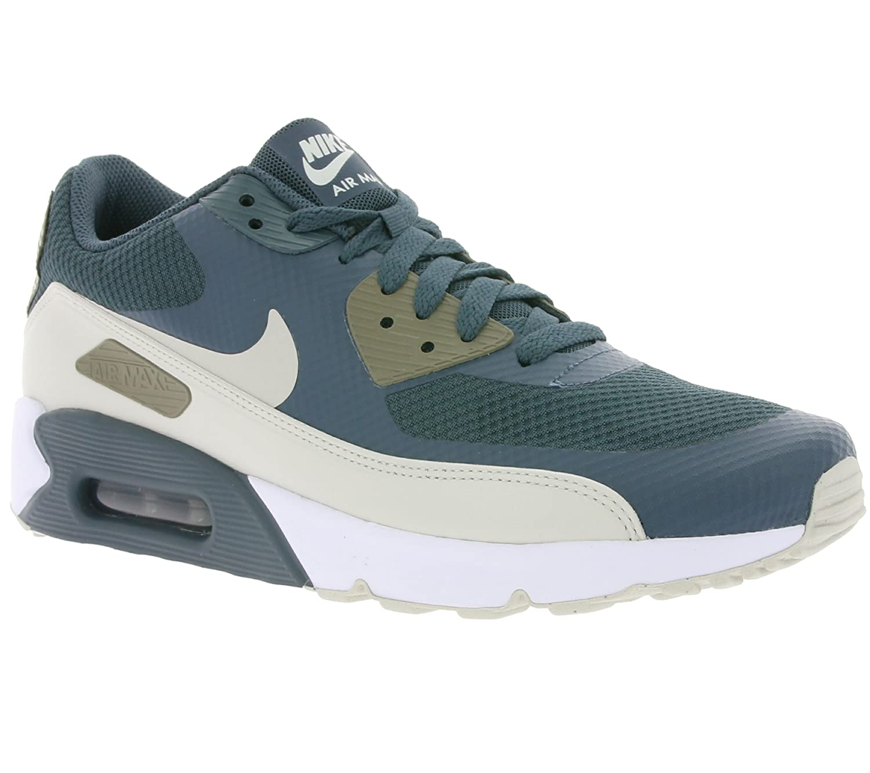 half off 9d0b0 6ab2d Amazon.com   Nike AIR MAX 90 Ultra 2.0 Essential Mens Running-Shoes  875695-401 10.5 - Blue Fox Light Bone-Dark Mushroom-White   Running