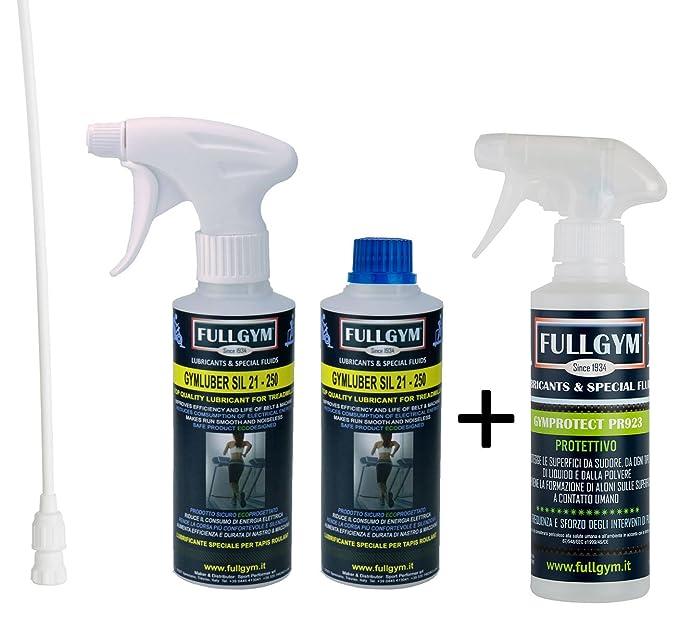 FULLGYM Kit gymluber SIL 21 de 500 ml + gymprotect Pr 923 de 250 ...