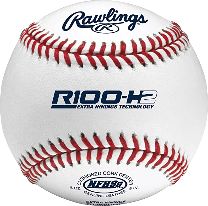 Rawlings Bolas de beisebol oficiais da NFHS High School, 12 unidades, R100-H2, Multi, Tamanho único : Amazon.com.br: Esporte