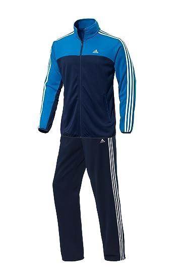 adidas Performance Herren Trainingsanzug blau 8: