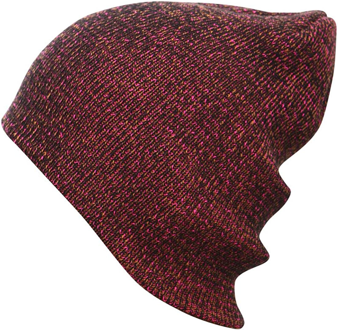 Solids and Multi Color Cuffable or Slouchy Knitted Beanie