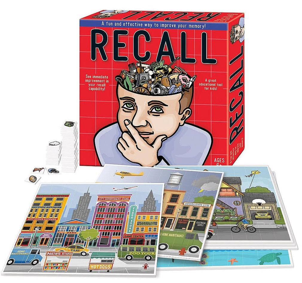 Recall Award-Winning The Fun and Effective Memory Improvement Game