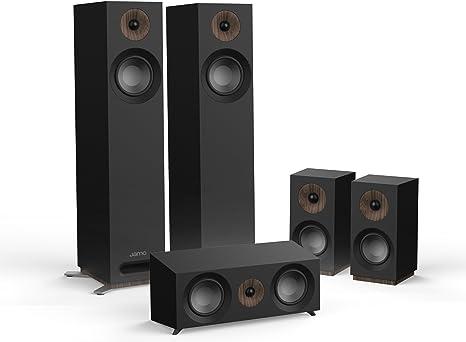 Jamo S 805 HCS 5.0canales Negro Conjunto de Altavoces - Set de Altavoces (5.0 Canales, Cine en casa, Negro, Corriente alterna)