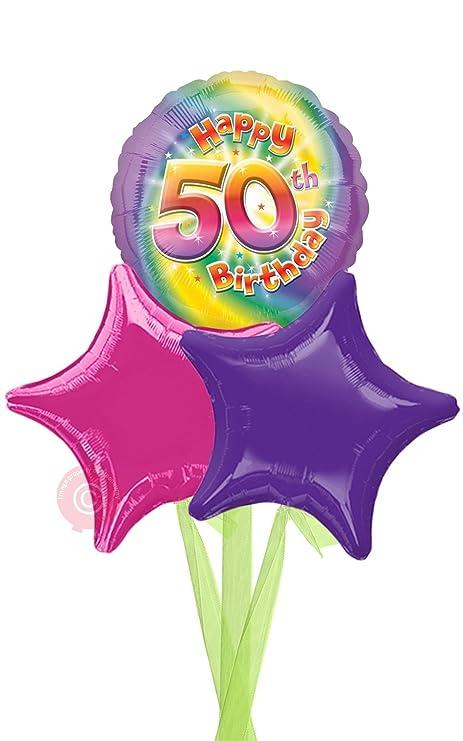 Num 50 Happy 50th Birthday Girl
