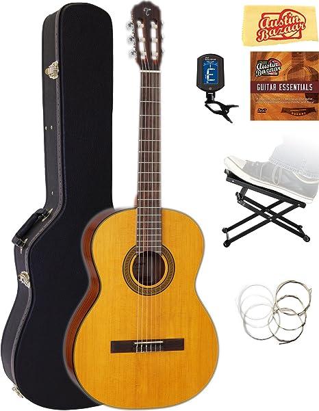 TAKAMINE gc3nat clásica guitarra acústica – Natural brillante ...