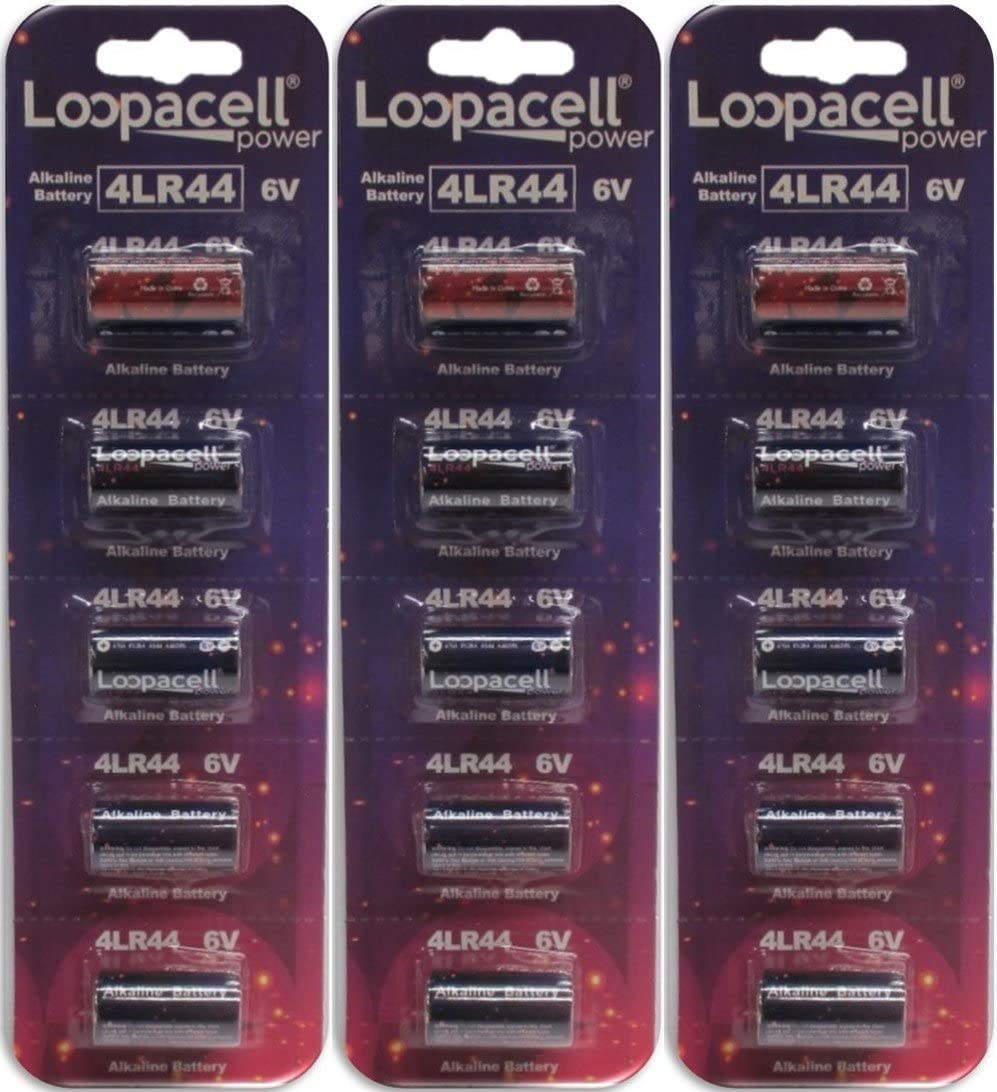 LOOPACELL 15 Alkaline Battery 6V A544 4LR44 PX28A