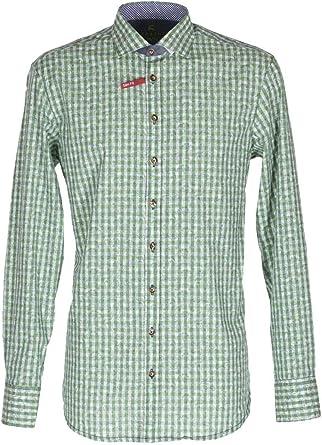 Orbis 420000-3521/51 - Camisa para hombre, color verde verde ...