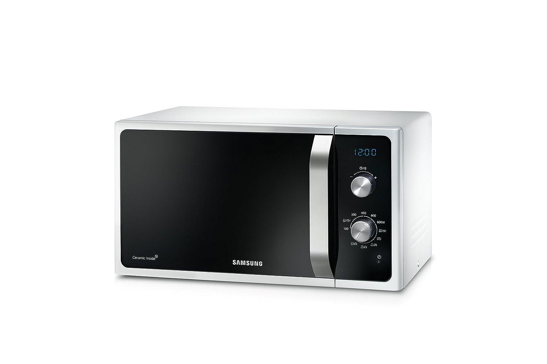 Amazon.de: Samsung MG23 F301ECW Mikrowellenherd 800 W, Grill 1100 W ...