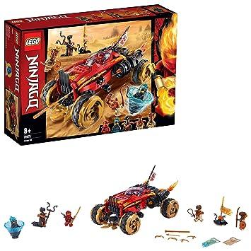 LEGO Ninjago - Catana 4 x 4 Juguete de construcción de Vehículo Ninja, el Set Incluye Minifiguras de Guerreros, Novedad 2019 (70675)