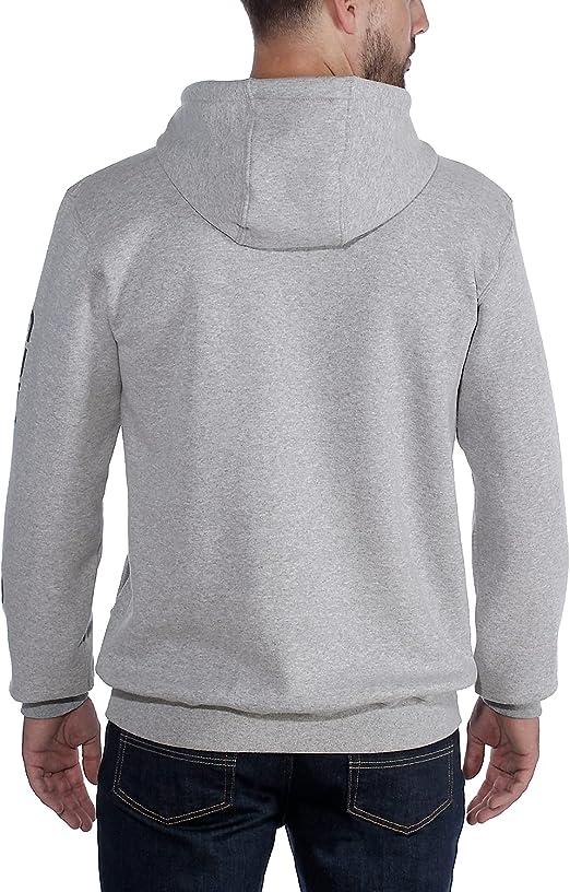 Carhartt pour Hommes Signature Logo Moyen Chemise /à Manches Capuche K288
